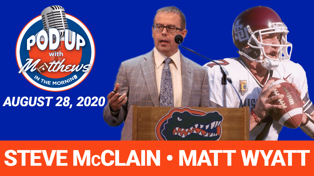 Steve McClain on PodUp with Matthews in the Morning