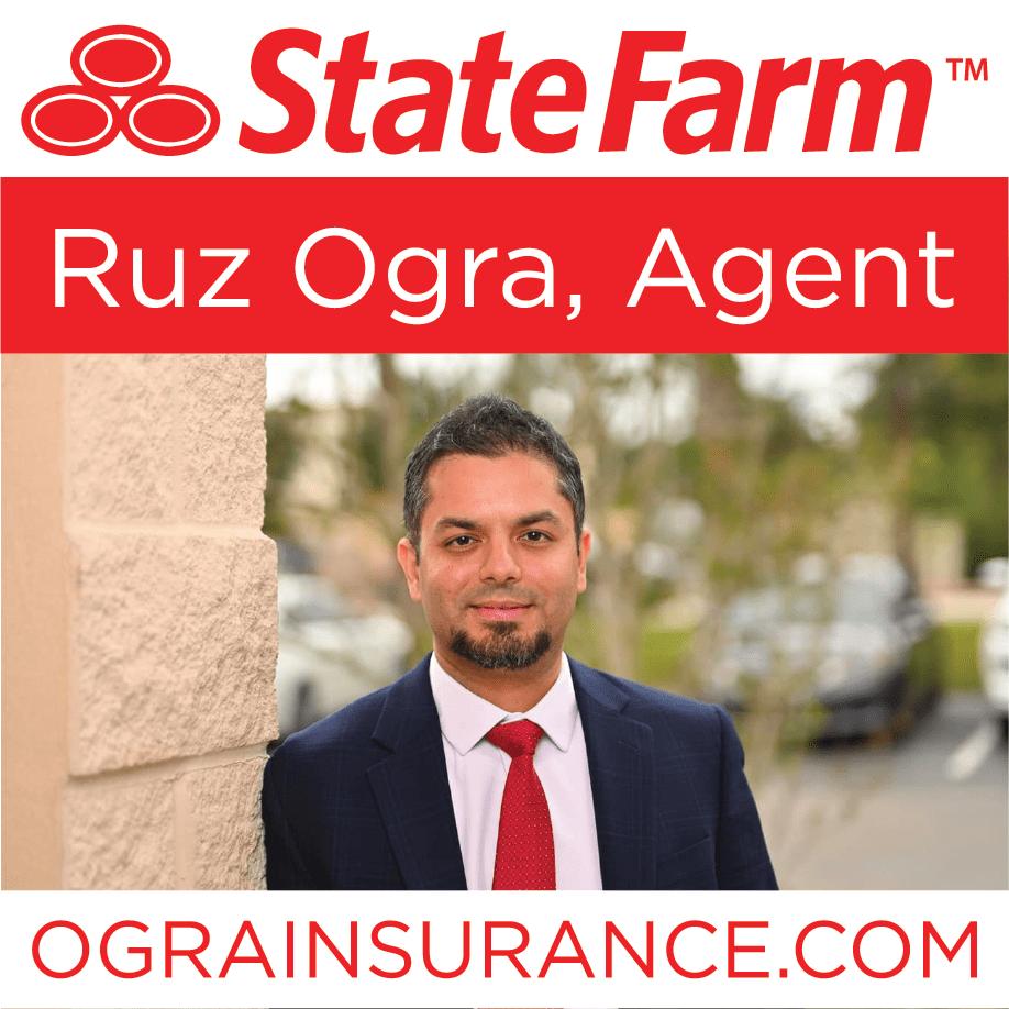 Ruz Ogra, Agent - State Farm Insurance