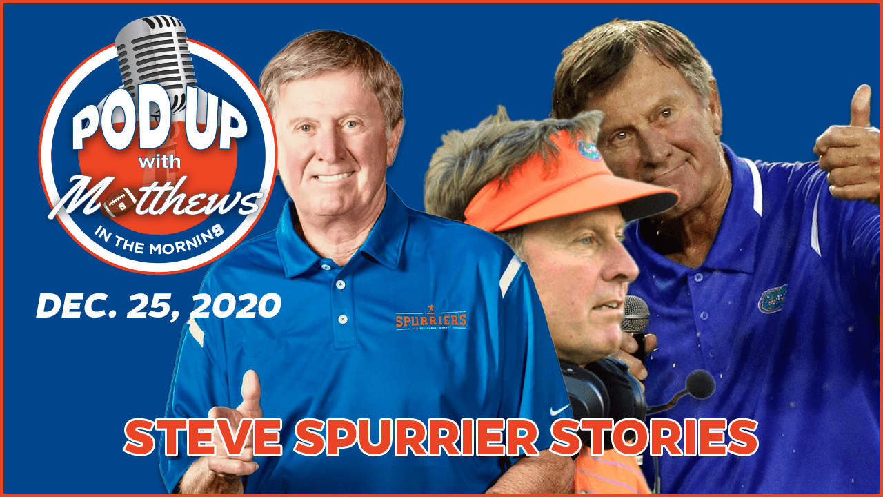 Steve Spurrier Stories on PodUp with Matthews in the Morning