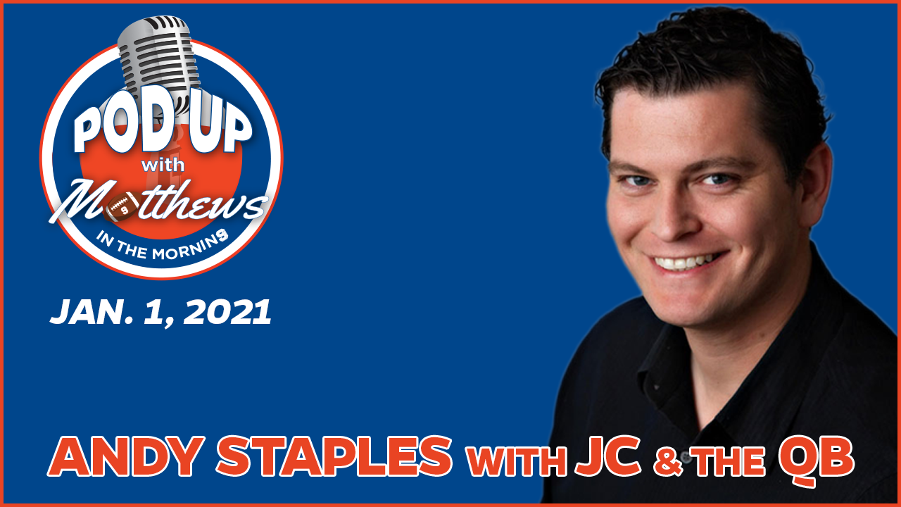 Andy Staples on PodUp with Matthews in the Morning
