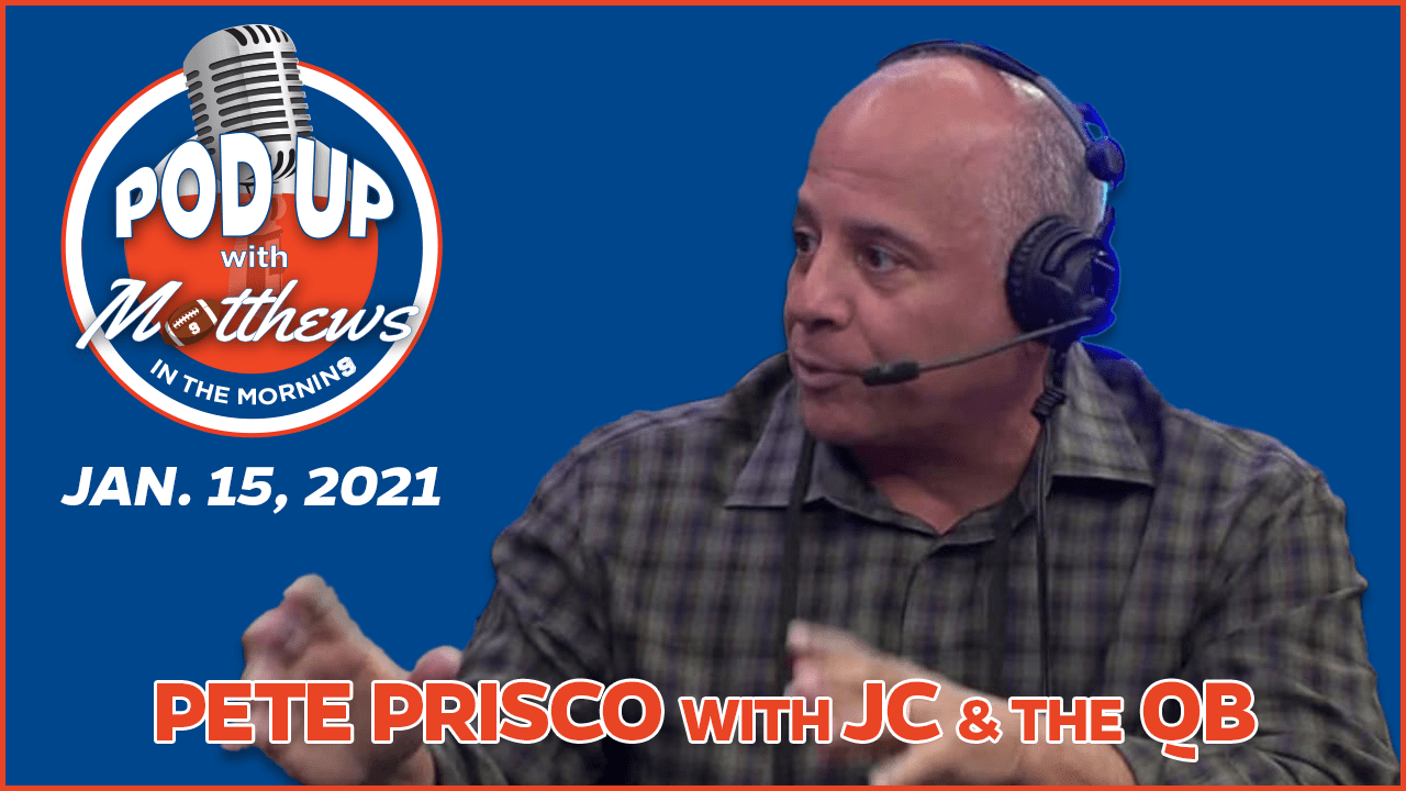 Pete Prisco on PodUp with Matthews in the Morning