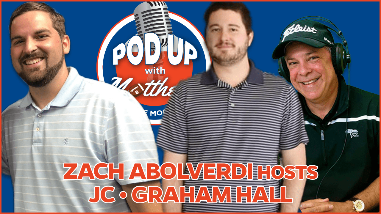 Graham Hall on PodUp with Matthews in the Morning