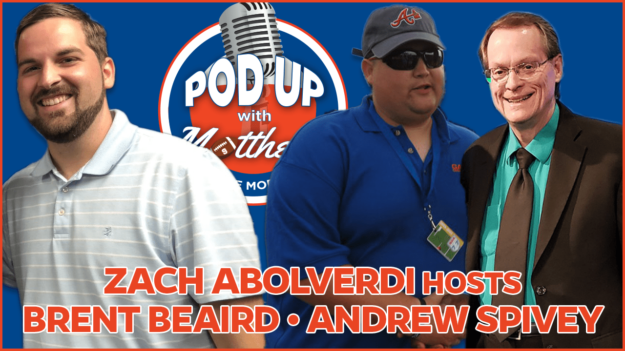 Brent Beaird and Andrew Spivey on PodUp with Matthews in the Morning
