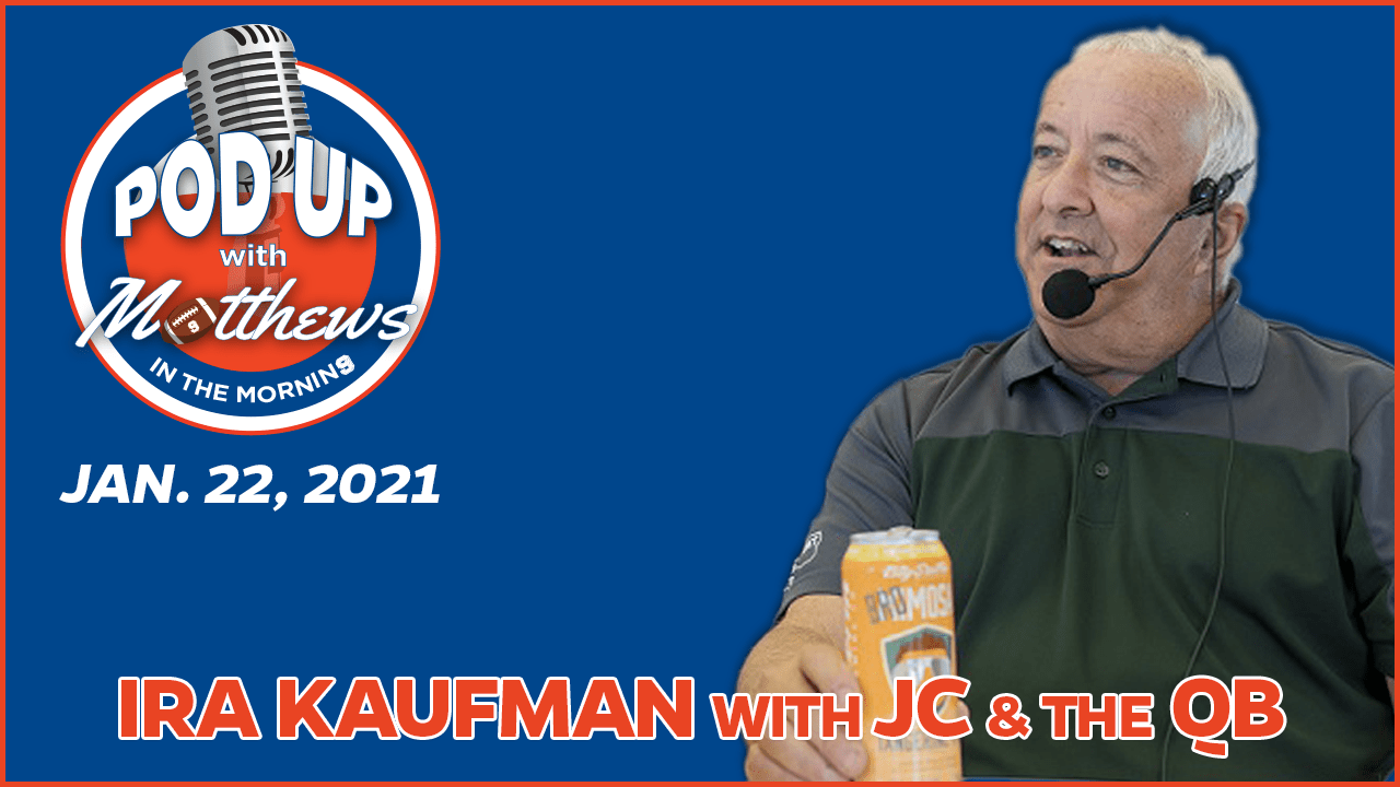 Ira Kaufman on PodUp with Matthews in the Morning