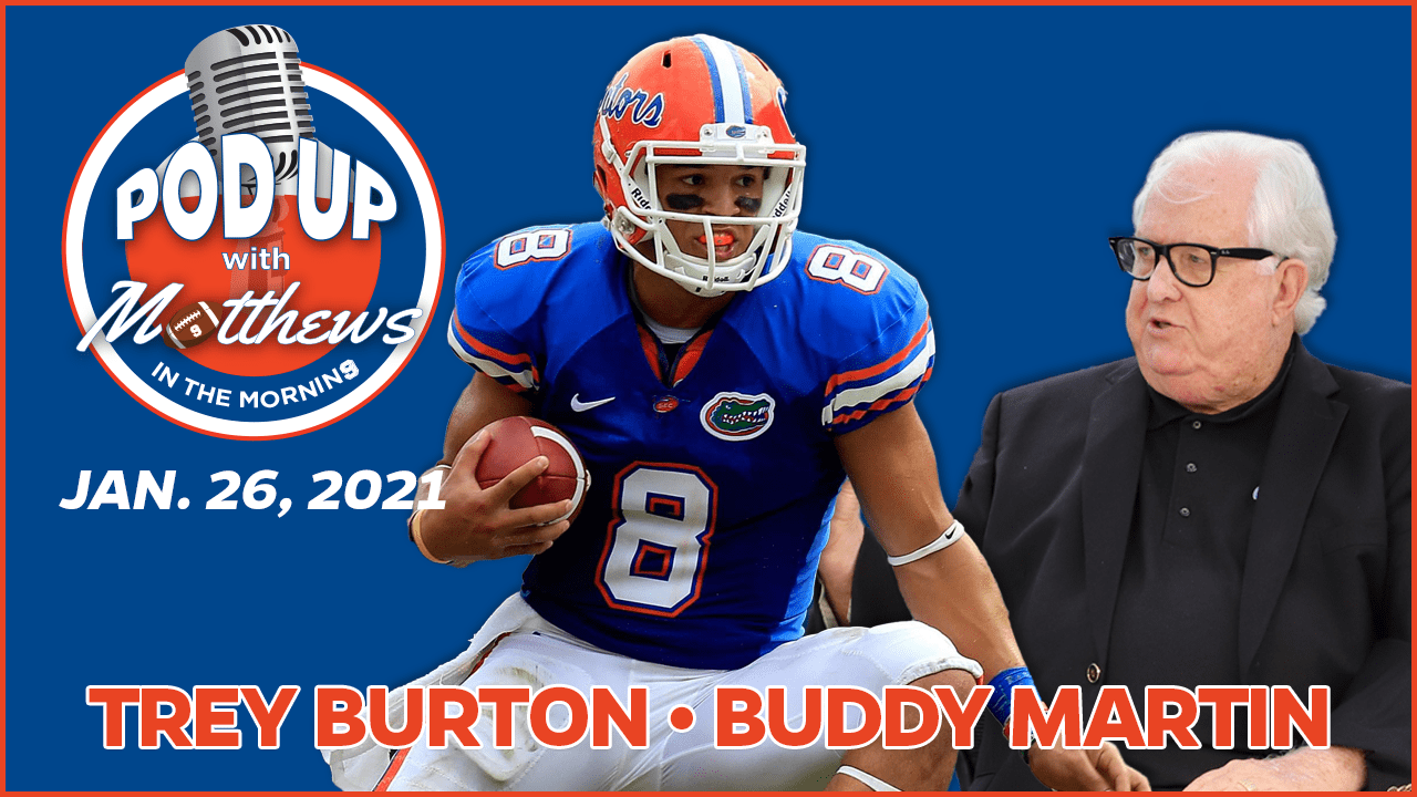 Trey Burton on PodUp with Matthews in the Morning