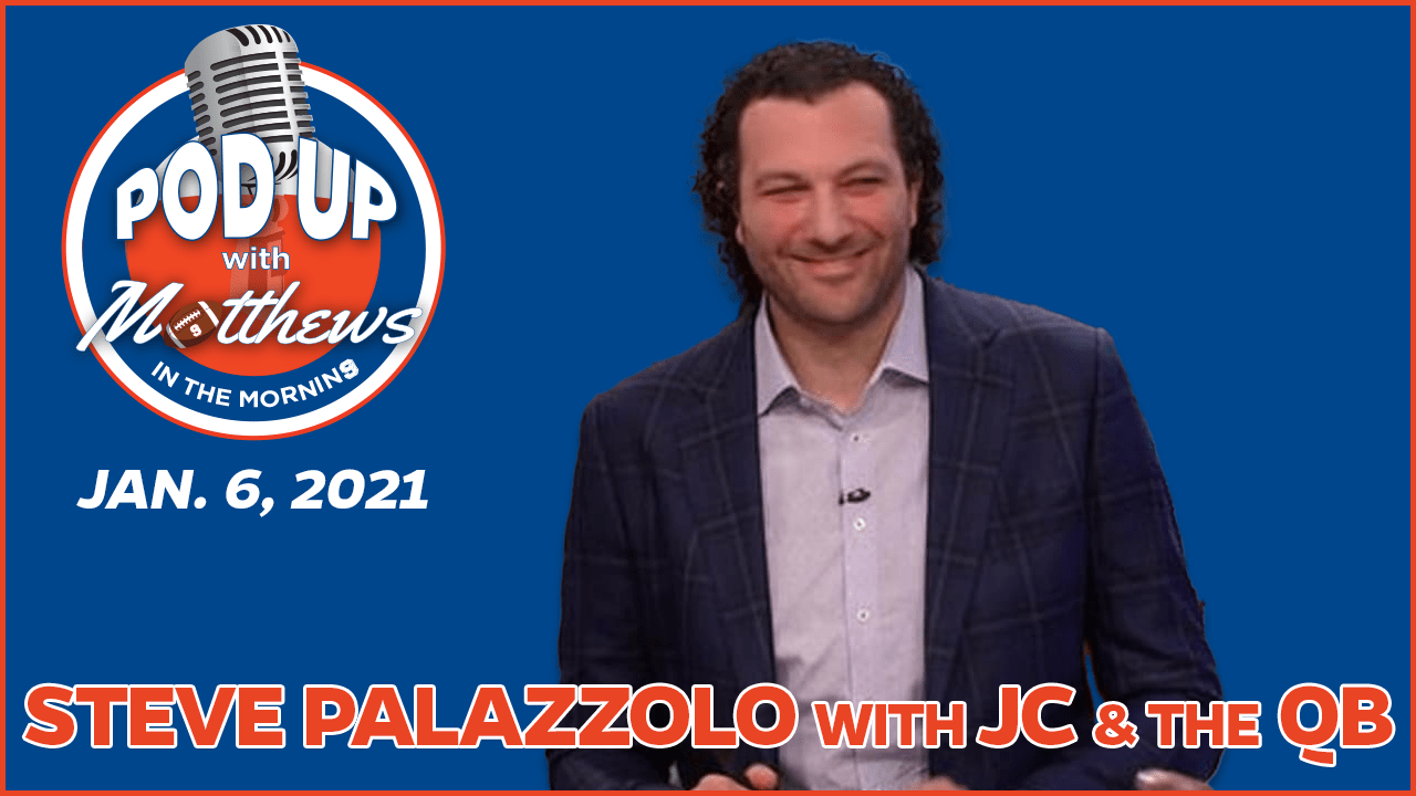Steve Palazzolo on PodUp with Matthews in the Morning