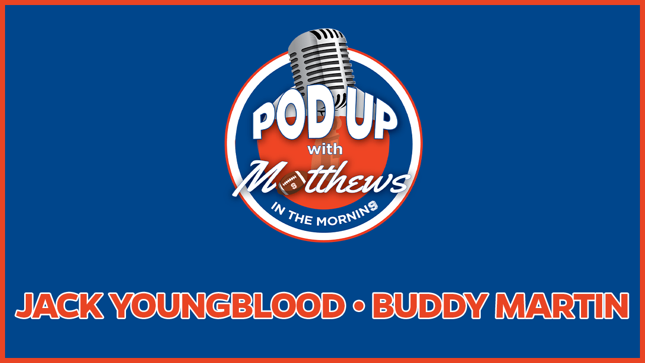 Jack Youngblood on PodUp with Matthews in the Morning