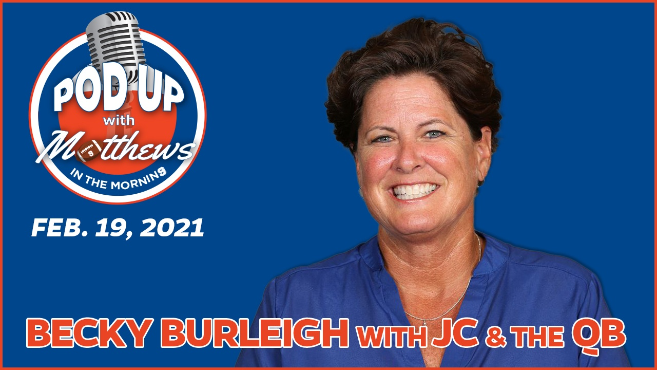 Becky Burleigh on PodUp with Matthews in the Morning