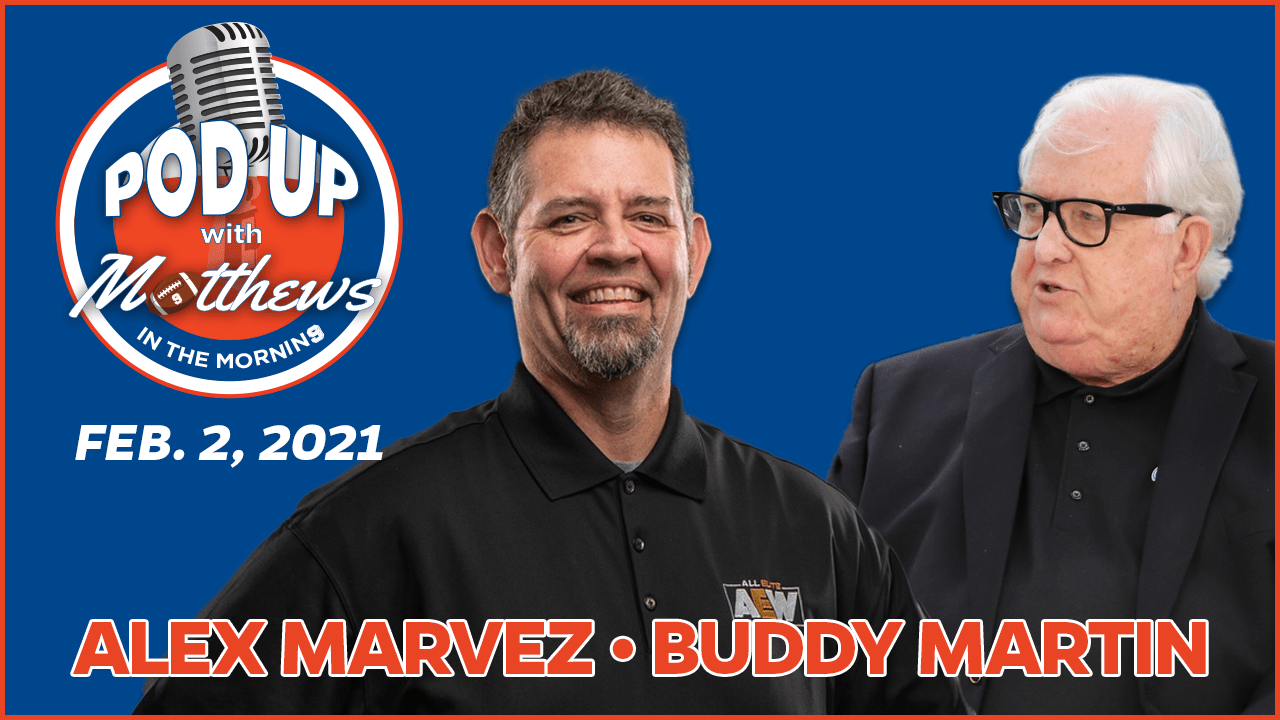 Alex Marvez on PodUp with Matthews in the Morning
