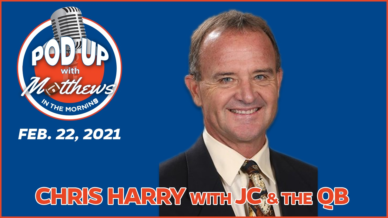 Chris Harry on PodUp with Matthews in the Morning