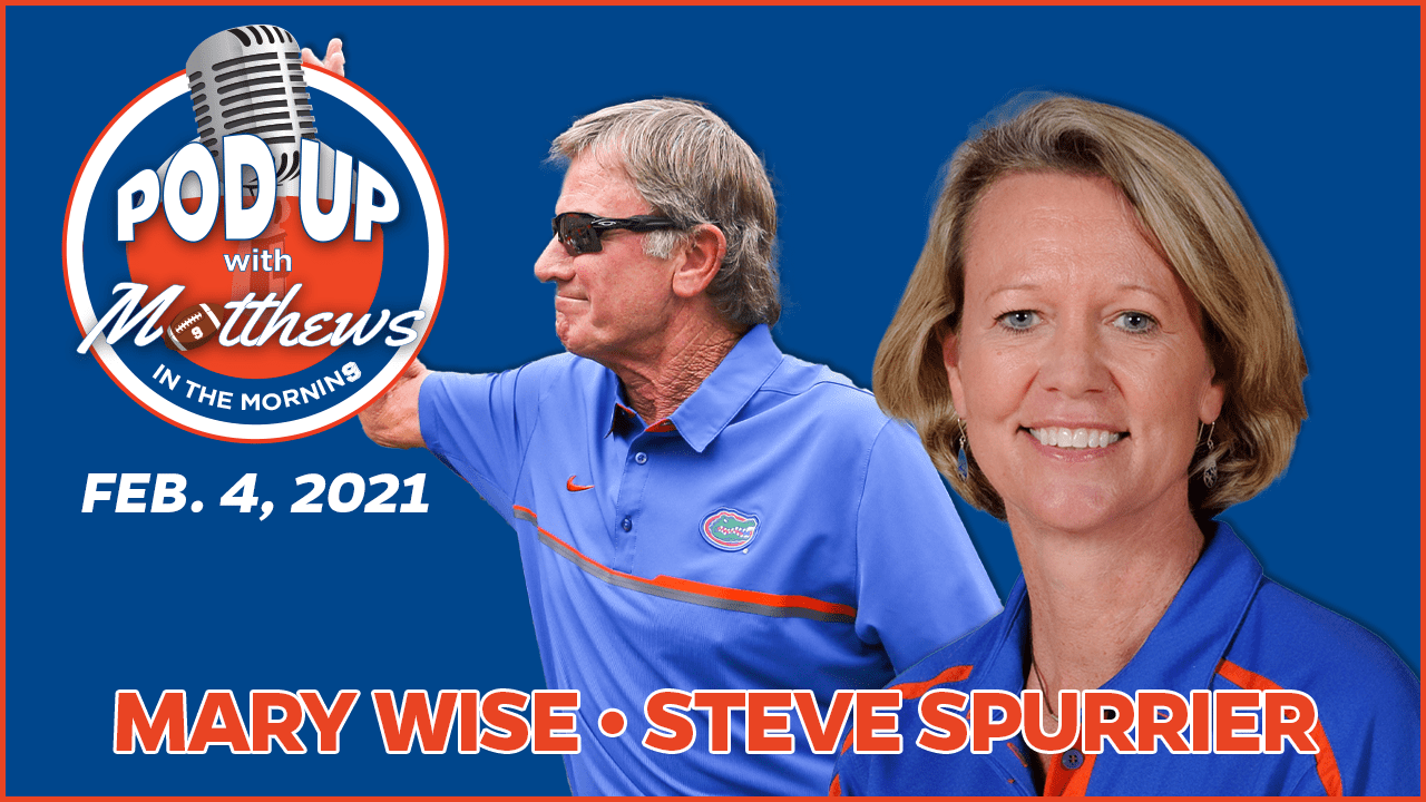 Mary Wise and Steve Spurrier on PodUp with Matthews in the Morning