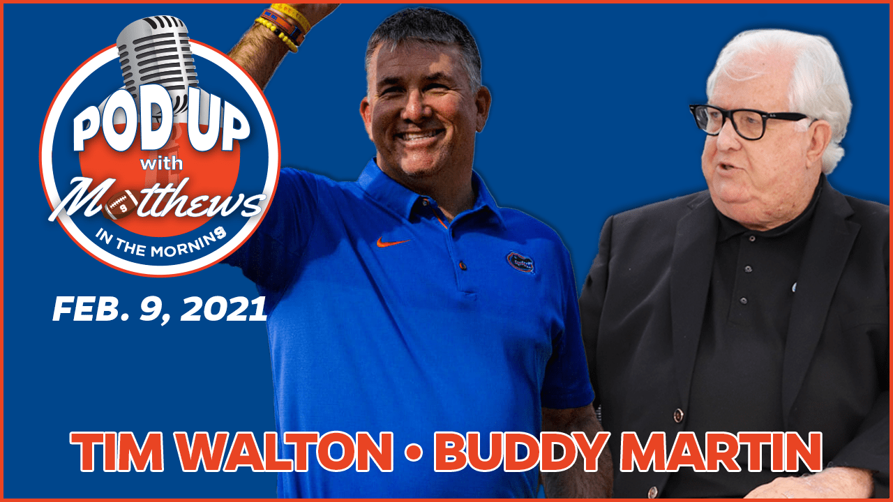 Tim Walton on PodUp with Matthews in the Morning