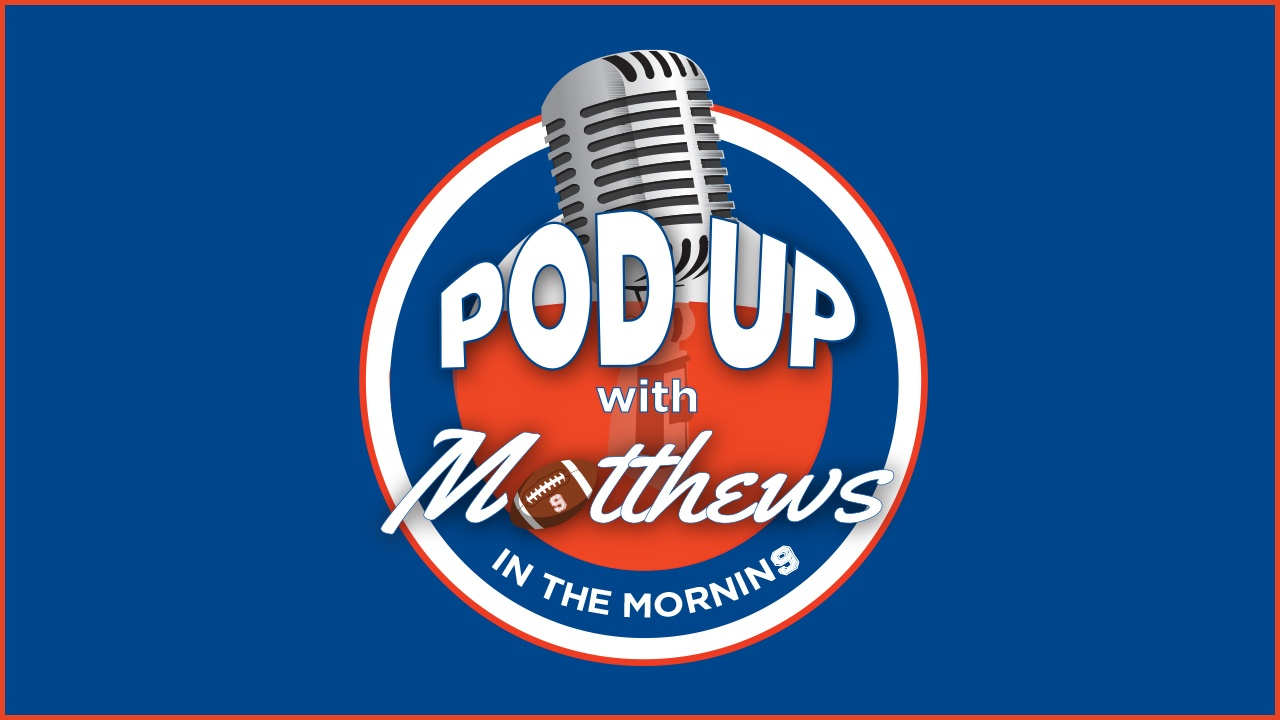 PodUp with Matthews in the Morning daily sports podcast