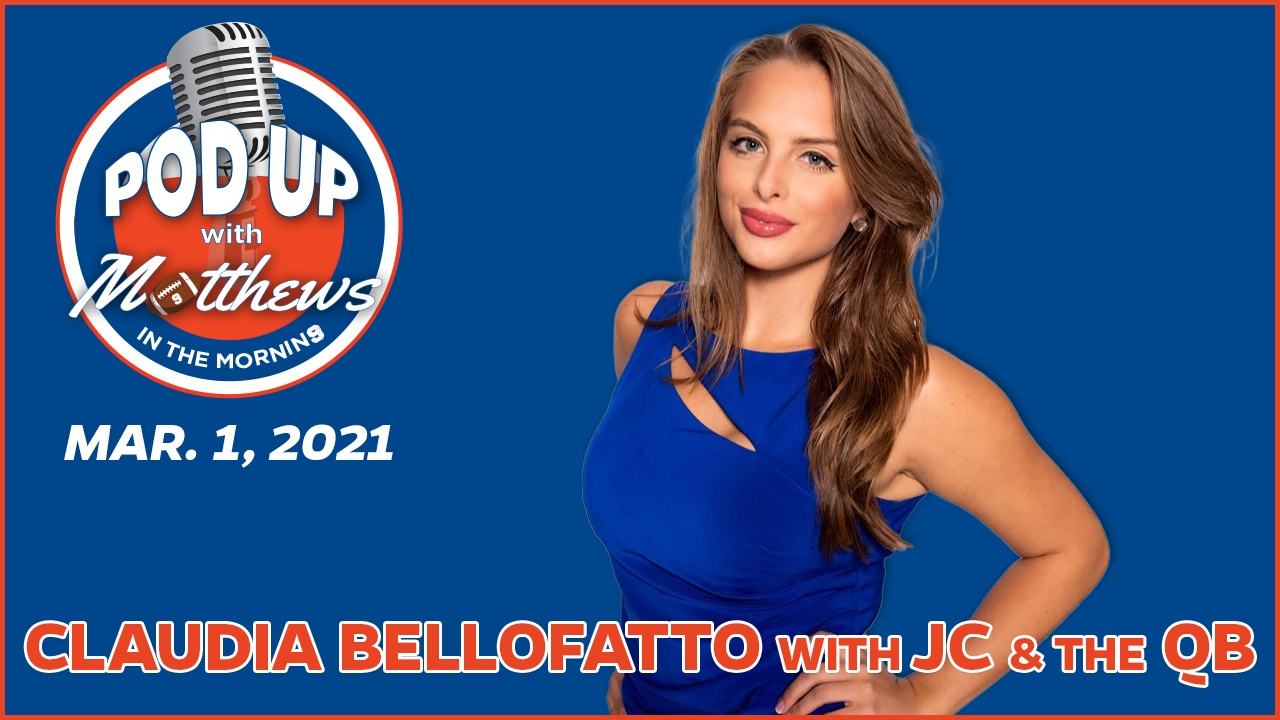 Claudia Bellofatto on PodUp with Matthews in the Morning